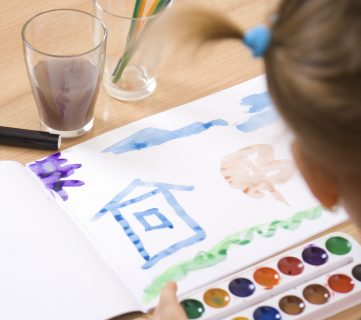 10 Creative Ways to Organize Kids' Art and Schoolwork
