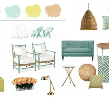 Color Crush ~ Decorating with Mint Green