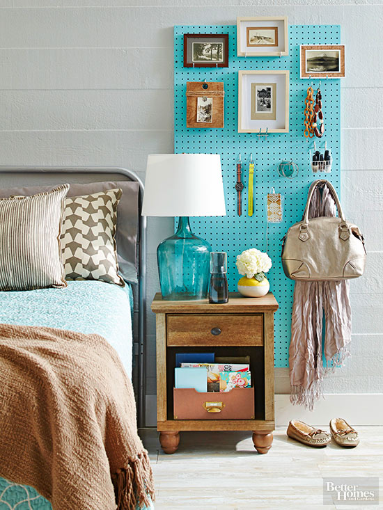 Remodelaholic 48 Pegboard Ideas For Every Room In Your House Custom Organizing A Living Room Creative