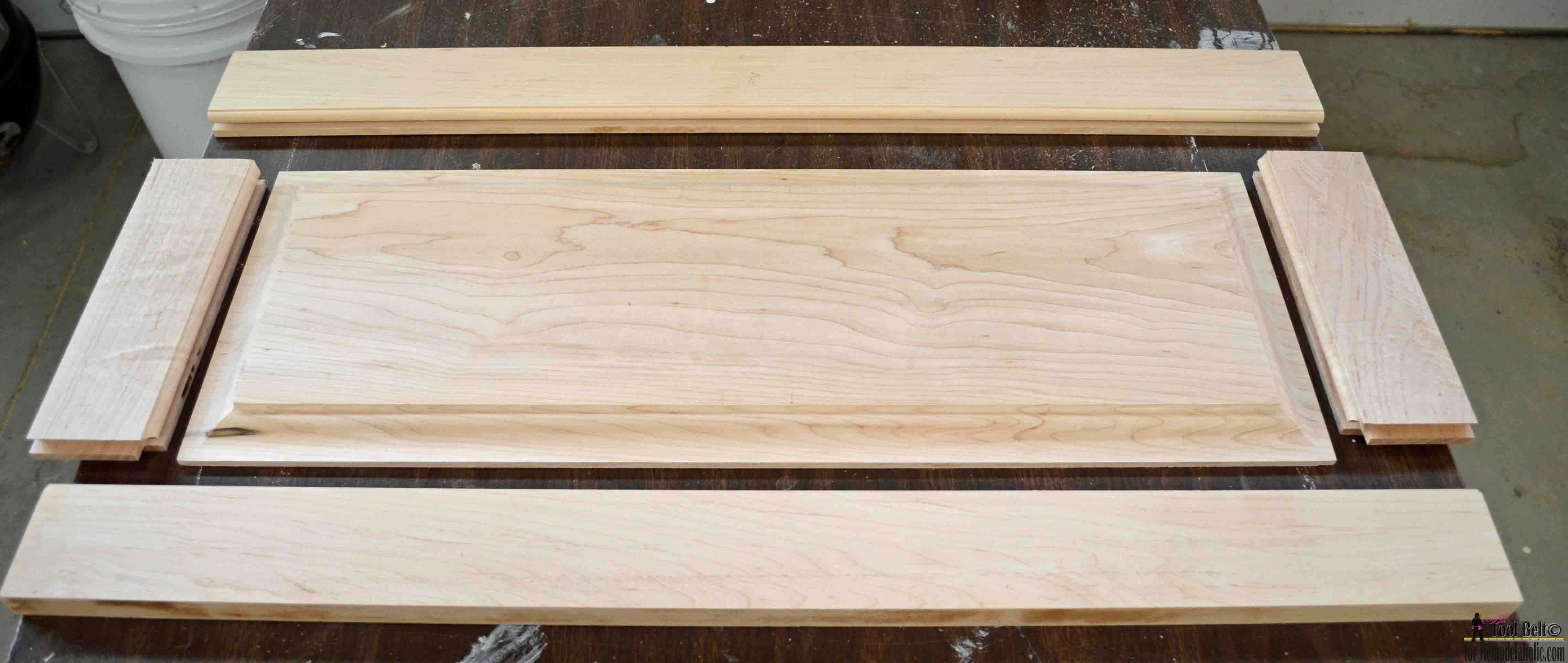 Build Your Own Custom Raised Panel Cabinet Doors For Your Home Or Projects,  Great Tutorial