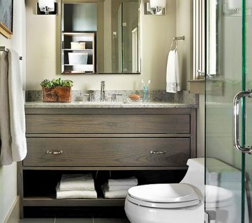 6 Characteristics of Stylish Simple Bathrooms