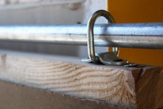 sliding barn door hardware - Apartment Therapy