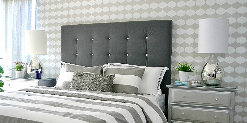 remodelaholic diy tufted upholstered headboard tutorial. Black Bedroom Furniture Sets. Home Design Ideas