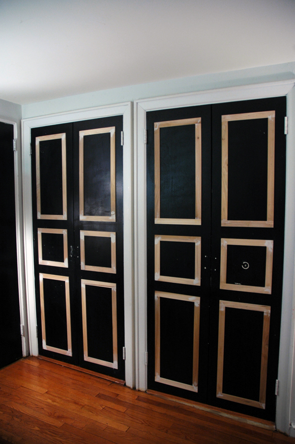 Superieur 6 Panel Closet Doors DIY Update   Little Green Notebook