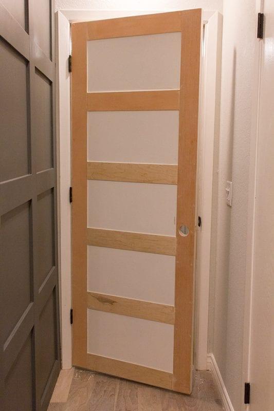 Plain Garage Door Makeover