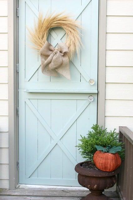 Beautiful Doors - aqua dutch farmhouse door Finding Home Online