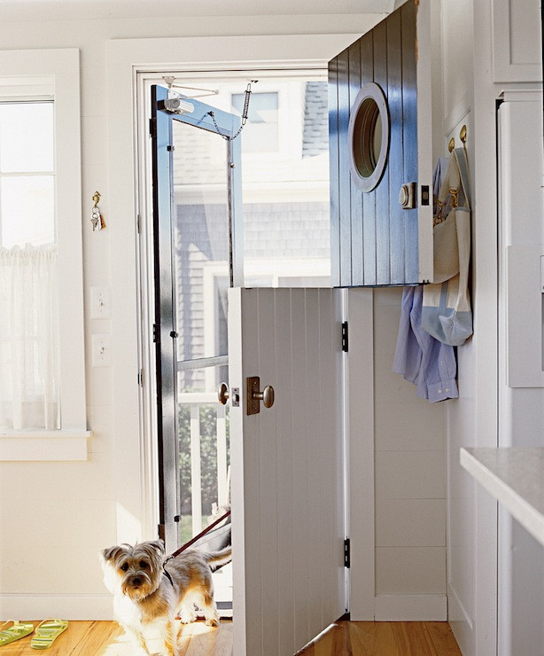 Beautiful Doors   Dutch Door With Porthole Window Via DecorPad