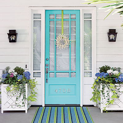 front door entryRemodelaholic  50 Beautiful Doors  Front Door Paint Colors