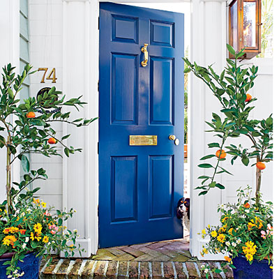 remodelaholic 50 beautiful doors front door paint colors. Black Bedroom Furniture Sets. Home Design Ideas