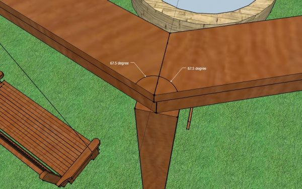 Building a Pergola Tutorial by Little White House Blog featured on @Remodelaholic