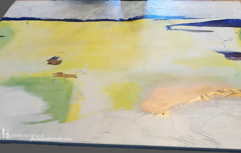 DIY Abstract Painting Step 4