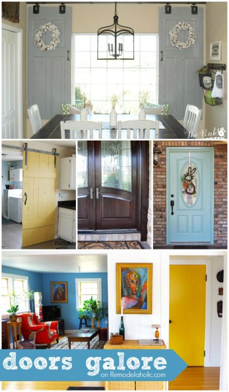 DIY Doors + Tutorials + Inspiration @Remodelaholic