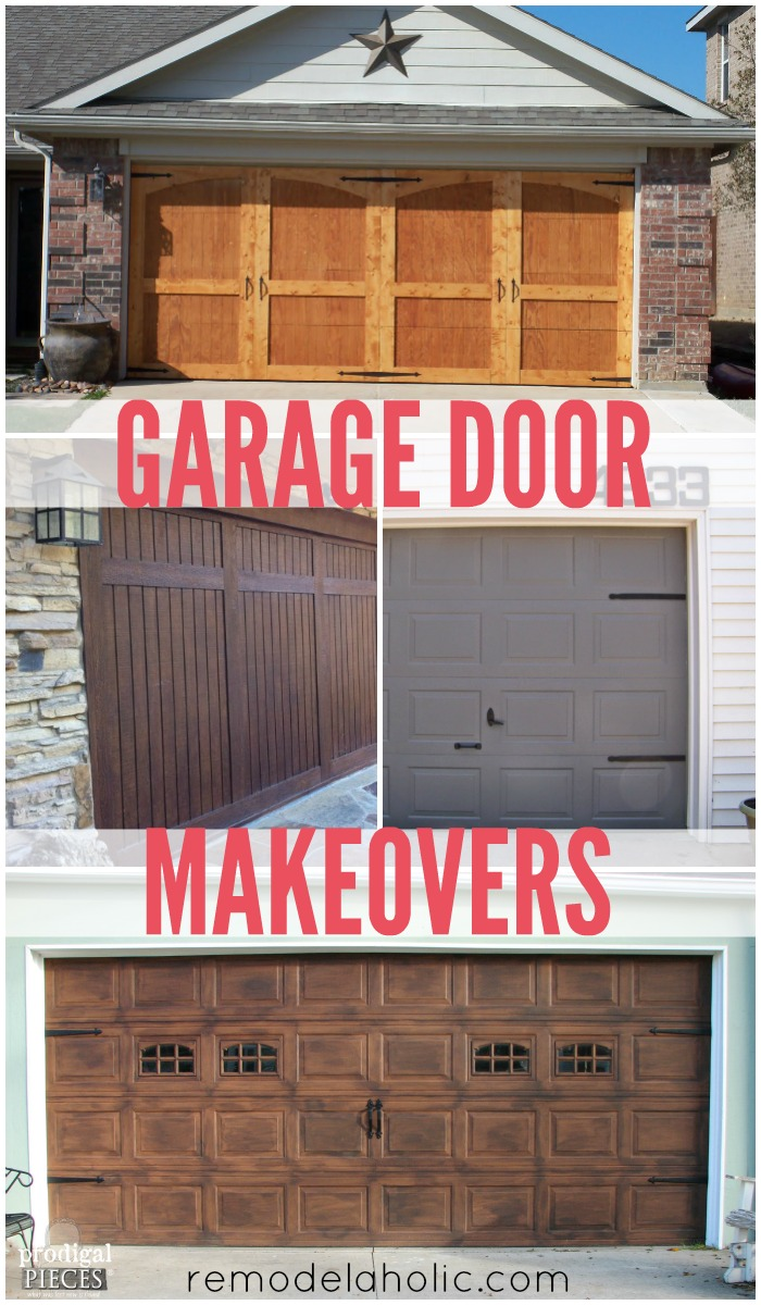 How to make garage doors look like carriage doors