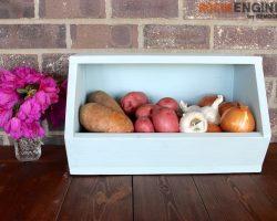 DIY Root Vegetable Storage Bin - Free Tutorial - Rogue Engineer