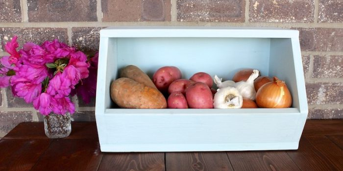 Stackable Root Vegetable Storage Bin