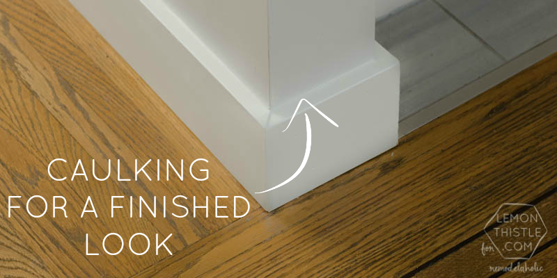 Remodelaholic Why You Need To Start Caulking Tips