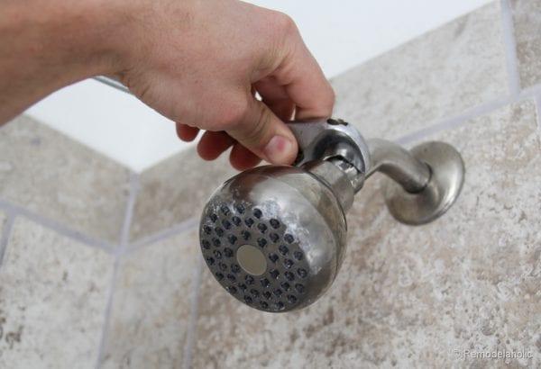 HOw to install a new showerhead Moen Magnetix-3576