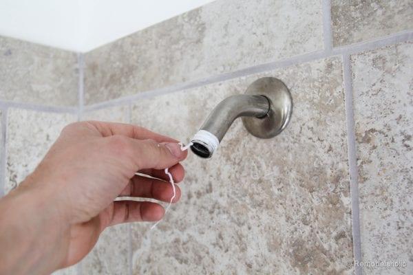 HOw to install a new showerhead Moen Magnetix-3580