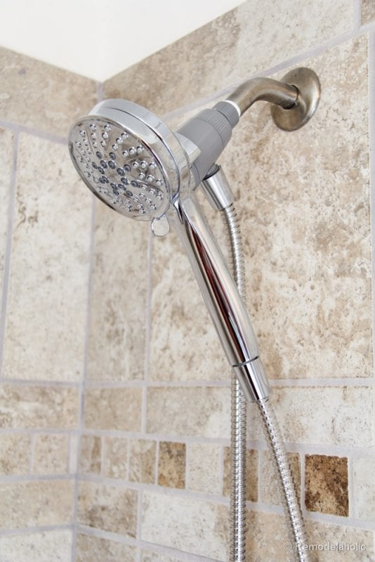 how to install a new showerhead moen