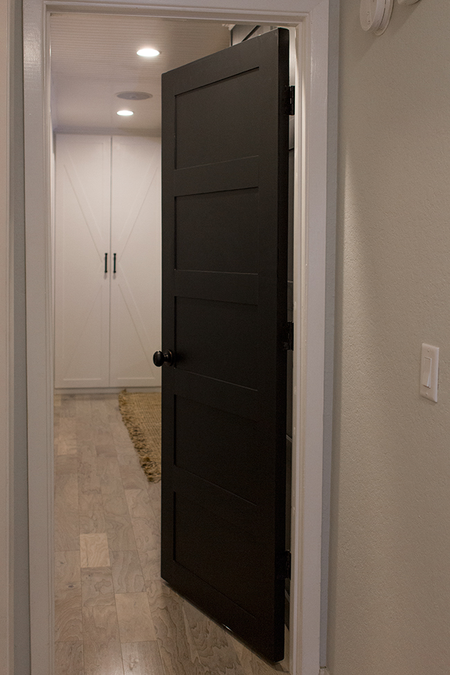 Remodelaholic | 5 Panel Door from a Flat Hollow Core Door