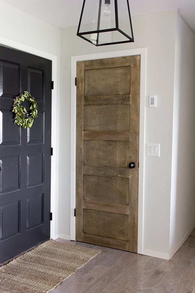 How To Create A Wooden 5 Panel Door By Jenna Sue Design Co Featured On @