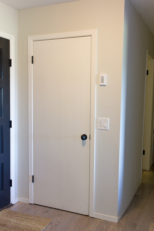 Remodelaholic 5 Panel Door From A Flat Hollow Core Door