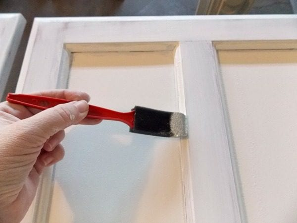 Kitchen Cabinet Painting Tutorial by The Palette Muse featured on Remodelaholic