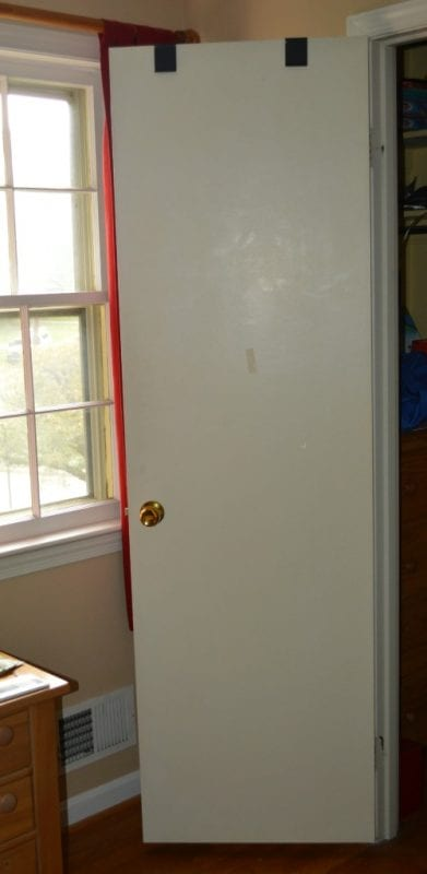 Make a Flat Door Look Like a Paneled Door by The Painted Drawer featured on  @