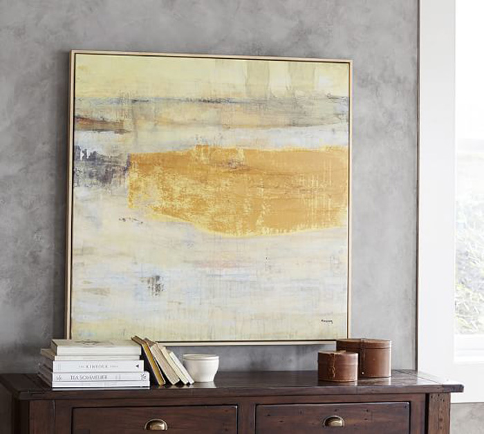 How to Successfully Paint an Abstract Painting | Remodelaholic ...