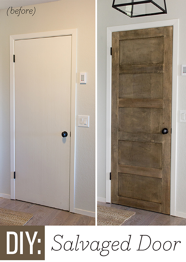 ... into a 5 Panel Door by Jenna Sue Design Co featured on @Remodelaholic