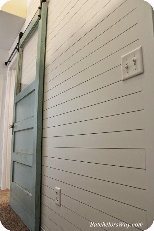 barn door and plank wall - Batchelors Way