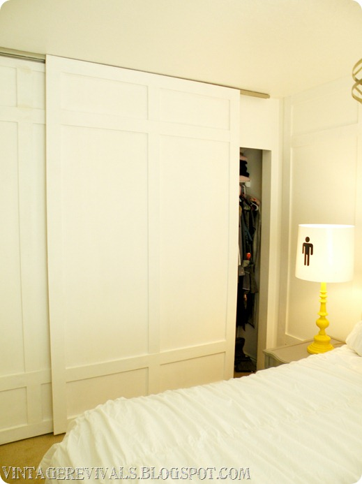 board and batten closet doors - Vintage Revivals