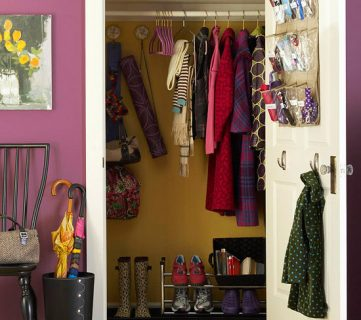 11 Ways to Upgrade Your Coat Closet