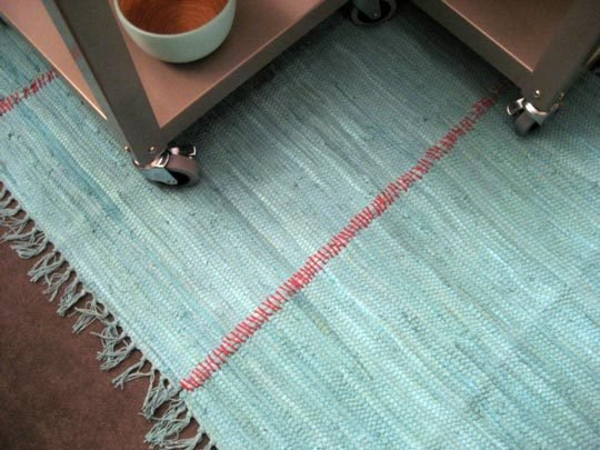 combined rag rugs