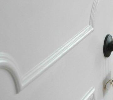 Make a Flat Door Look Like a Paneled Door