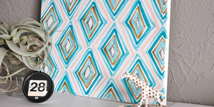 DIY Painted Projects + April Link Party