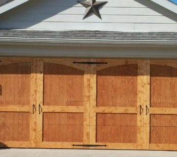diy garage doorRemodelaholic  Shut The Front Door DIYs