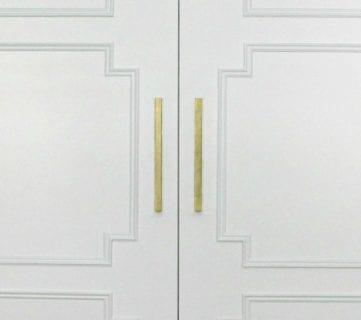Add Molding to Update Closet Doors
