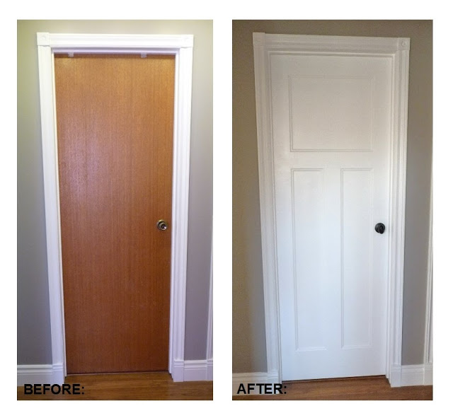 Remodelaholic best diy door tips installation framing for Interior door replacement