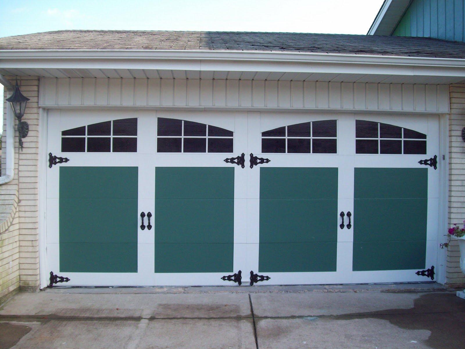 Painted And Raised Panel Garage Door Facelift General Splendour
