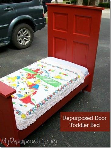 repurposed-door-toddler-bed-myrepurposedlife