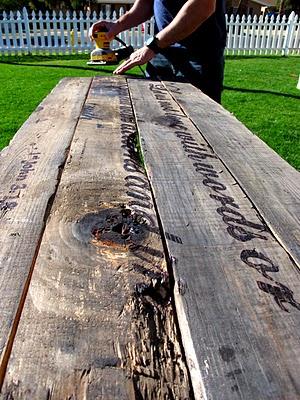 woodburned driftwood wall art