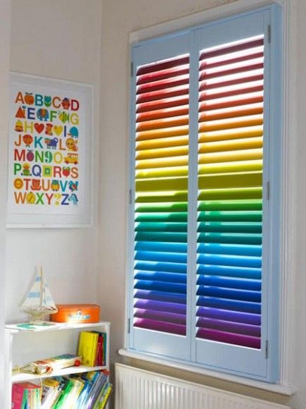 Rainbow Playroom Inspiration | Found on rainblowg.tumblr.com
