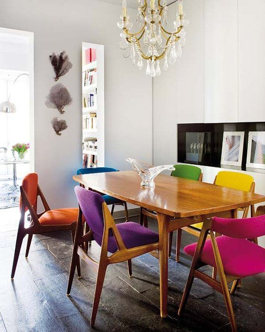 Rainbow Playroom Inspiration | Found on apartmenttherapy.com