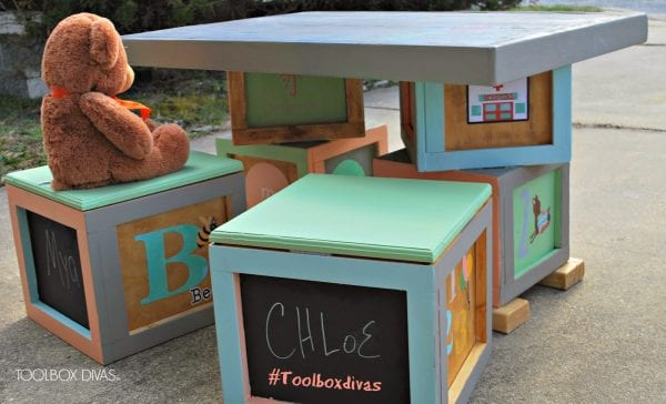 Building Block Playtable Tutorial by ToolBox Divas for Remodelaholic