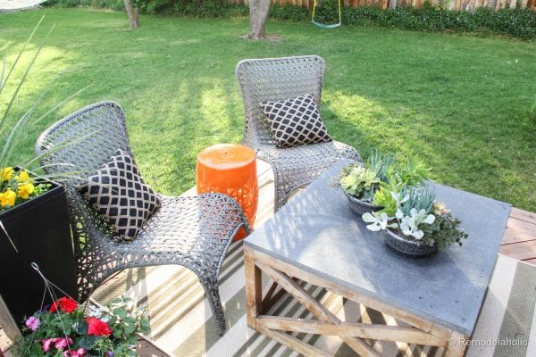 Cleaning with Scotts Outdoor Oxiclean cleaner (28 of 30)