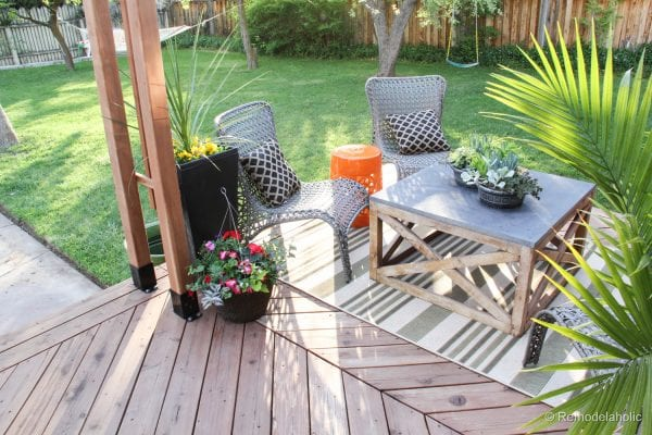 Remodelaholic Our Deck Clean Up