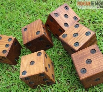 DIY Yard Dice Tutorial