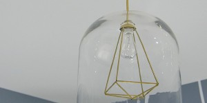 DIY hurricane pendant