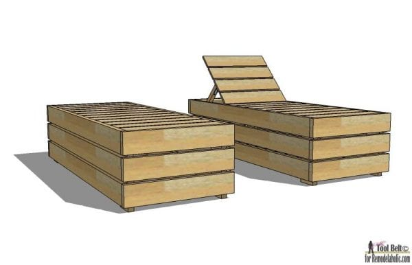 Enjoy the weather outdoor in style. Build a DIY lounge chair with these deck lounger woodworking plans.